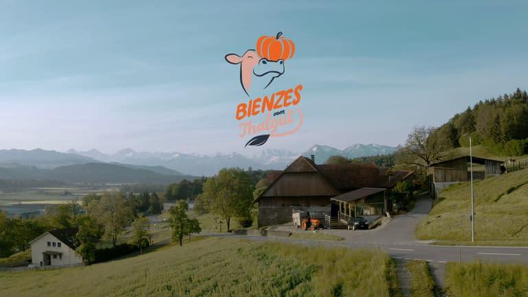 Filmproduktion Bern - BOFF. - Bienzes vom Thalgut - Drohnenaufnahmen
